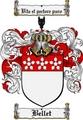 Thumbnail Bellet Family Crest Bellet Coat of Arms Digital Download