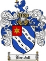 Thumbnail Bendall Family Crest Bendall Coat of Arms Digital Download