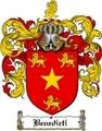 Thumbnail Benedicti Family Crest  Benedicti Coat of Arms