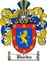 Thumbnail Benitez Family Crest  Benitez Coat of Arms