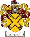 Thumbnail Benjamen Family Crest  Benjamen Coat of Arms