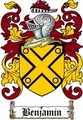 Thumbnail Benjamin Family Crest  Benjamin Coat of Arms
