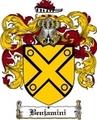 Thumbnail Benjamini Family Crest  Benjamini Coat of Arms