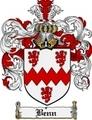 Thumbnail Benn Family Crest Benn Coat of Arms Digital Download