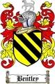 Thumbnail Bentley Family Crest  Bentley Coat of Arms