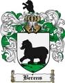 Thumbnail Berens Family Crest Berens Coat of Arms Digital Download
