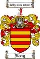 Thumbnail Berey Family Crest Berey Coat of Arms Digital Download