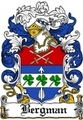 Thumbnail Bergman Family Crest  Bergman Coat of Arms
