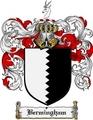 Thumbnail Bermingham Family Crest Bermingham Coat of Arms Digital Download