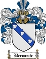 Thumbnail Bernarde Family Crest  Bernarde Coat of Arms