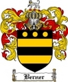 Thumbnail Berner Family Crest Berner Coat of Arms Digital Download