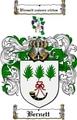 Thumbnail Bernett Family Crest  Bernett Coat of Arms