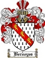 Thumbnail Berneyes Family Crest  Berneyes Coat of Arms