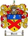 Thumbnail Berril Family Crest Berril Coat of Arms Digital Download