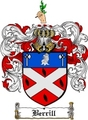 Thumbnail Berrill Family Crest  Berrill Coat of Arms