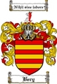 Thumbnail Bery Family Crest Bery Coat of Arms Digital Download