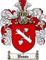 Thumbnail Besse Family Crest Besse Coat of Arms Digital Download