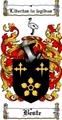 Thumbnail Beste Family Crest  Beste Coat of Arms