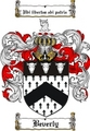 Thumbnail Beverly Family Crest  Beverly Coat of Arms