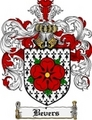 Thumbnail Bevers Family Crest Bevers Coat of Arms Digital Download
