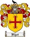 Thumbnail Bigot Family Crest Bigot Coat of Arms Digital Download