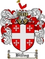 Thumbnail Billing Family Crest  Billing Coat of Arms