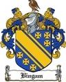 Thumbnail Bingam Family Crest  Bingam Coat of Arms