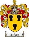 Thumbnail Birkby Family Crest Birkby Coat of Arms Digital Download