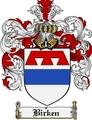 Thumbnail Birken Family Crest Birken Coat of Arms Digital Download