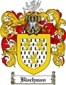 Thumbnail Blachman Family Crest Blachman Coat of Arms Digital Download