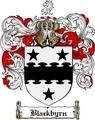 Thumbnail Blackbyrn Family Crest  Blackbyrn Coat of Arms