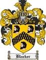 Thumbnail Blacker Family Crest Blacker Coat of Arms Digital Download