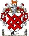Thumbnail Blake Family Crest / Blake Coat of Arms