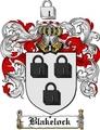 Thumbnail Blakelock Family Crest  Blakelock Coat of Arms