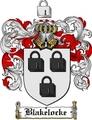 Thumbnail Blakelocke Family Crest  Blakelocke Coat of Arms