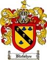 Thumbnail Bletshoe Family Crest  Bletshoe Coat of Arms