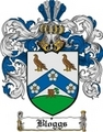 Thumbnail Bloggs Family Crest  Bloggs Coat of Arms