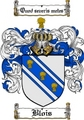 Thumbnail Blois Family Crest  Blois Coat of Arms