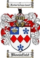 Thumbnail Bloomfield Family Crest Bloomfield Coat of Arms Digital Download