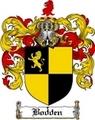 Thumbnail Bodden Family Crest  Bodden Coat of Arms