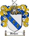 Thumbnail Bohan Family Crest  Bohan Coat of Arms