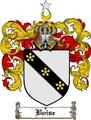 Thumbnail Boise Family Crest  Boise Coat of Arms