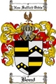 Thumbnail Bond Family Crest  Bond Coat of Arms
