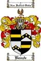 Thumbnail Bonde Family Crest  Bonde Coat of Arms