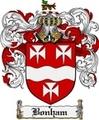 Thumbnail Bonham Family Crest Bonham Coat of Arms Digital Download