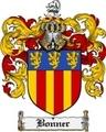Thumbnail Bonner Family Crest Bonner Coat of Arms Digital Download