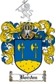 Thumbnail Borden Family Crest  Borden Coat of Arms