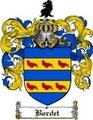 Thumbnail Bordet Family Crest  Bordet Coat of Arms