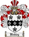 Thumbnail Bosley Family Crest Bosley Coat of Arms Digital Download