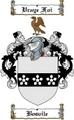 Thumbnail Bosvile Family Crest  Bosvile Coat of Arms